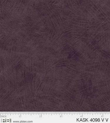 P&B Textiles Kashmir Kaleidoscope Texture - Very Violet