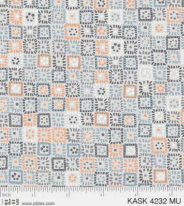 P&B Textiles Kashmir Kaleidoscope Squares - Multi