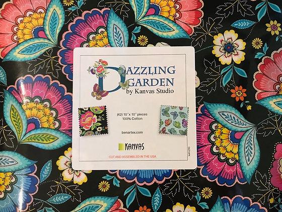 Kanvas Studio Dazzling Garden 10 inch stackers