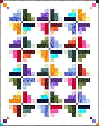 P&B Textiles Fracture Quilt - Free Pattern