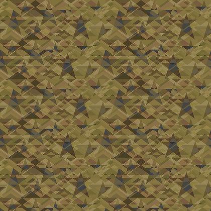 Henry Glass Scrap Happy Star Mosaic - Light Green