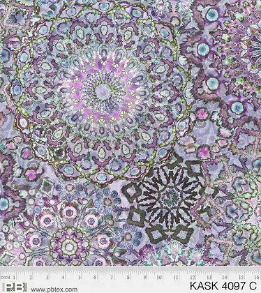 P&B Textiles Kashmir Kaleidoscope - Kaleidoscope Lilac