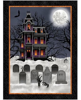 Studio E Spooky Night Panel - 36 inch Panel