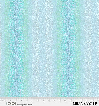 P&B Textiles Mindful Mandalas Ombre Dot Wideback - Light Blue