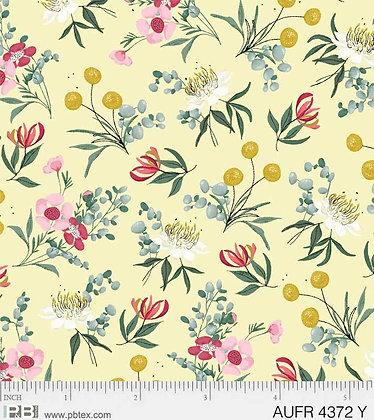 P&B Textiles Aussie Friends Flower - Yellow
