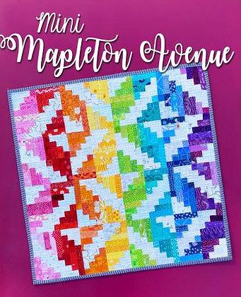 Mini Mapleton Avenue - PAPER pattern