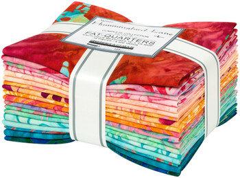 Robert Kaufman Artisan Batiks Hummingbird Lane 18 piece Fat Quarter Bundle