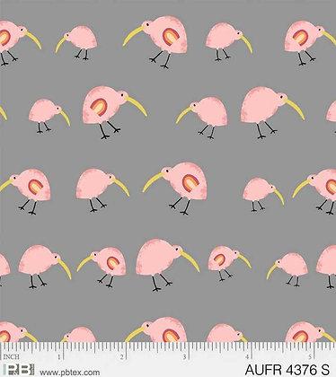 P&B Textiles Aussie Friends Birds - Pink