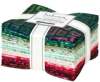 Robert Kaufman Artisan Batiks: Sakura 22 piece Fat Quarter Bundle