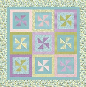 Pinwheels in The Garden Free Pattern