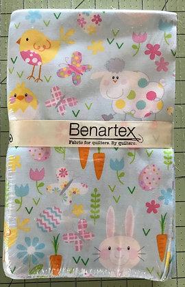 Benartex Hippity Hop 18 piece Fat Quarter Bundle