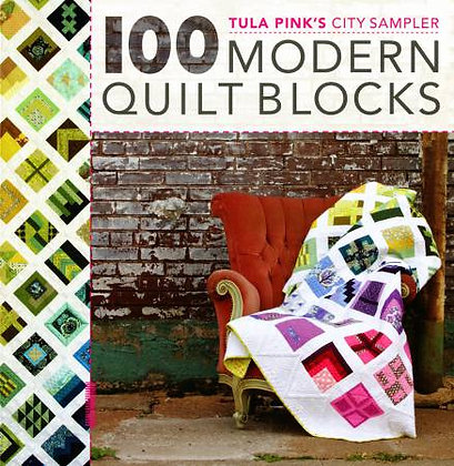 Tula Pink's City Sampler 100 Modern Quilt Blocks Softcover Quilt Book