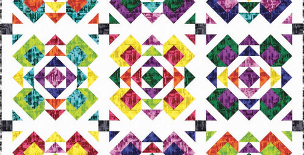 Prismachrome Quilt - Free Pattern