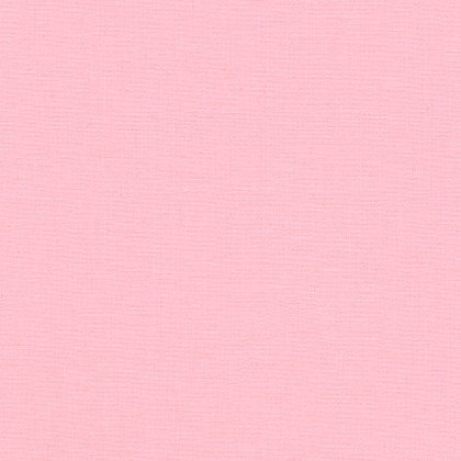 Robert Kaufman Kona - Baby Pink