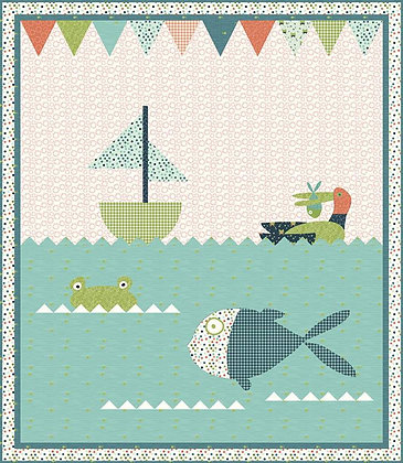 Riley Blake Ready Set Splash Lake Fun - Quilt Pattern