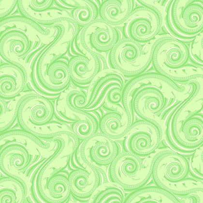 Benartex Crescendo Wave - Lime