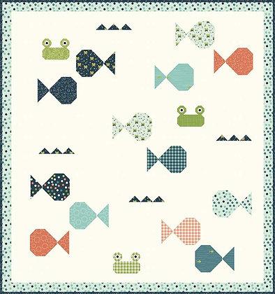 Riley Blake Ready Set Splash Fish Academy - Quilt Pattern