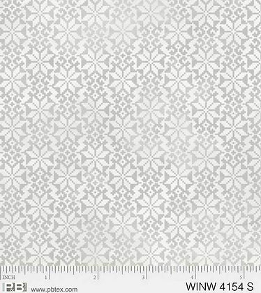 P&B Winter Wonderland Poinsettias - Silver