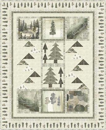 P&B Textiles Forest Retreat Quilt - Free Pattern