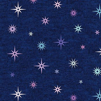 Benartex Crescendo Night Sky - Navy