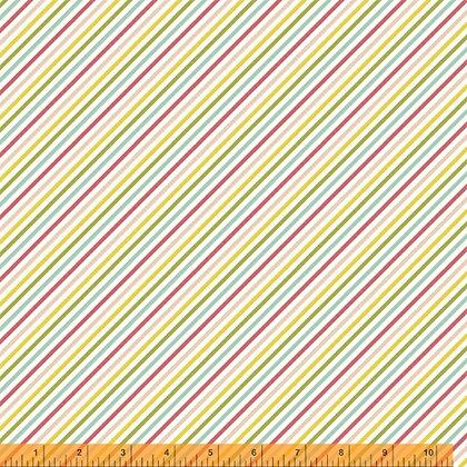 Windham Cora Diagonal Stripe - Multi