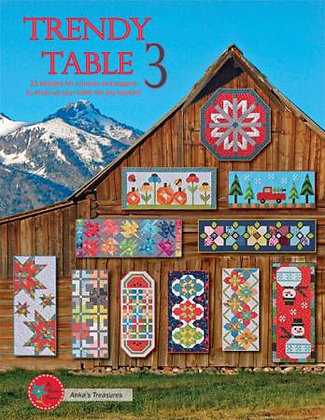 Trendy Table 3 - Quilt Book