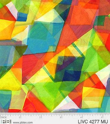 P&B Textiles Living Coastal Shards - Multi