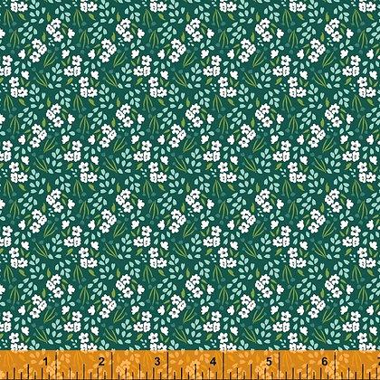 Windham Cora Mini Floral - Teal