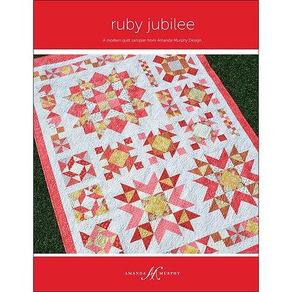 Benartex Ruby Jubilee Quilt Kit