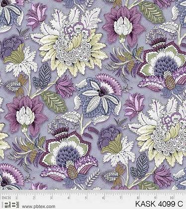 P&B Textiles Kashmir Kaleidoscope Floral - Lilac