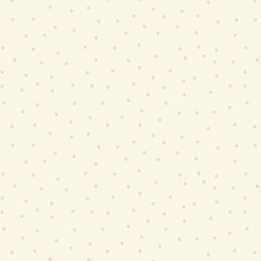 Clothworks Sunny Fields Mini Dot - Cream