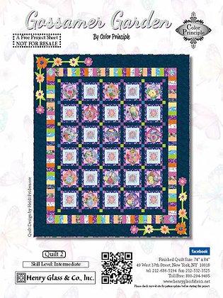 Henry Glass Gossamer Garden Free Quilt Pattern