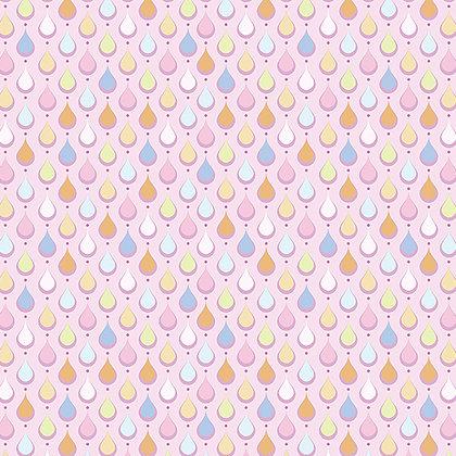 Benartex Crescendo Rain - Petal