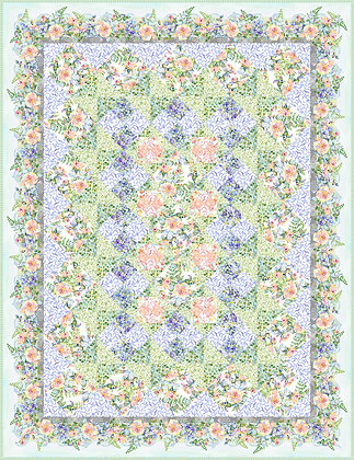 In The Beginning Patricia Quilt Kit