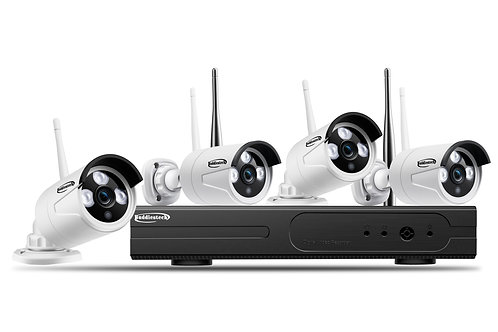 copy of copy of 4ch 1080P Wifi NVR Kit  with 4pcs 1080P Wifi IP Camera..3TB -HDD