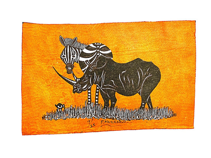 Zebra and Rhino