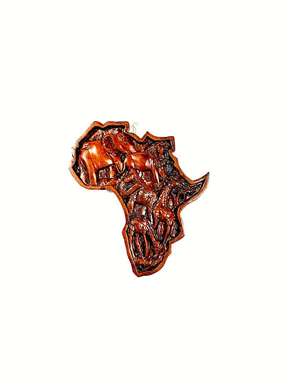 Africa with African animals