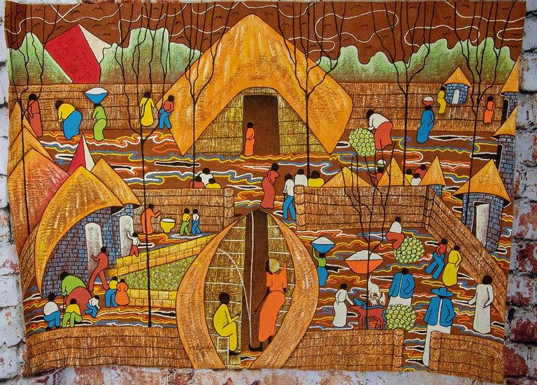 A Bugandan Village