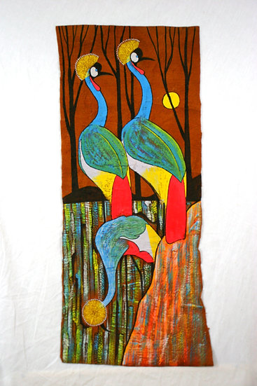 Crested Cranes of Uganda