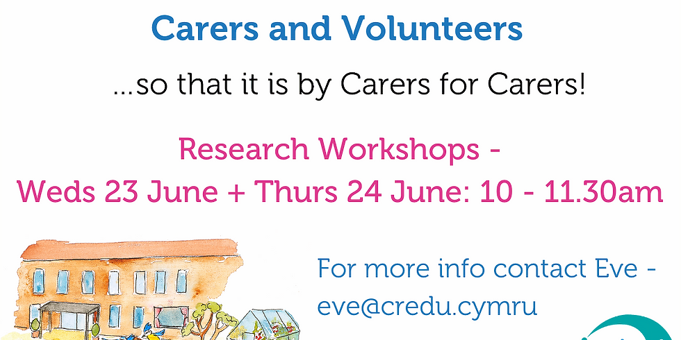 Carers Learning Research Workshop (1)