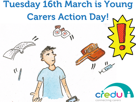 It's Young Carers Action Day 2021!