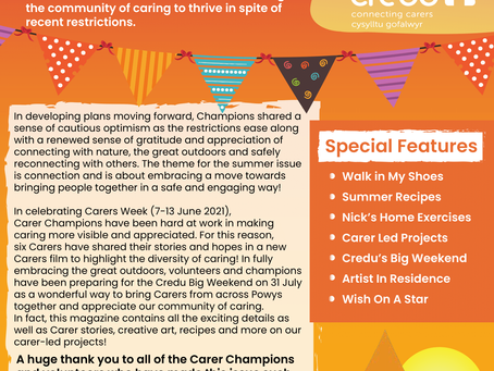 Carers Chat Magazine - Summer 2021