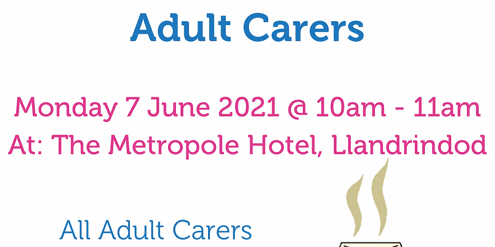 Coffee and Catch Up for Adult Carers
