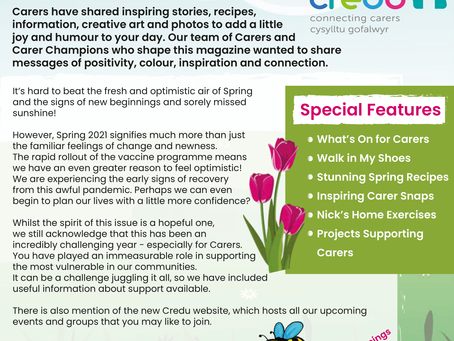 Carers Chat Magazine - Spring Edition