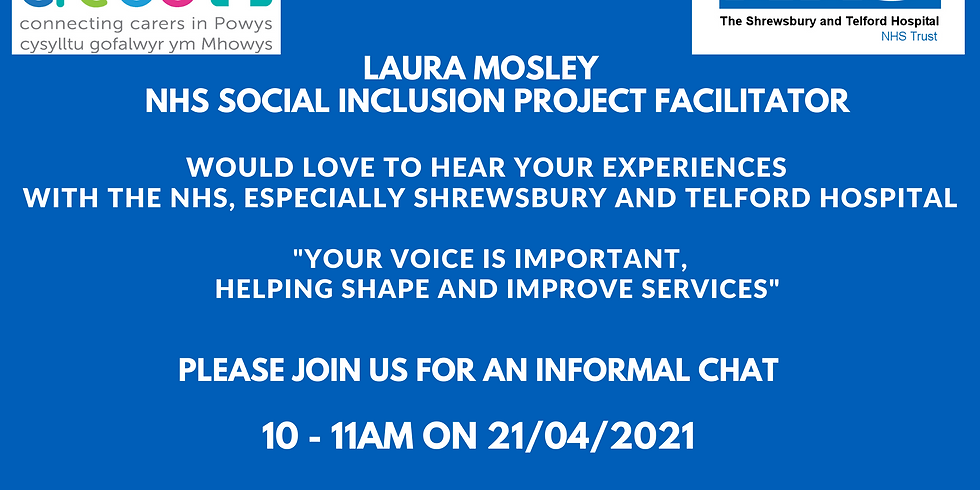 NHS Social Inclusion Chat