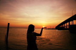 Corpus Christi Sunset Vanessa