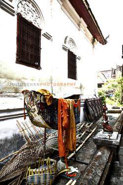 Monk Temple, Bangkok, Thailand