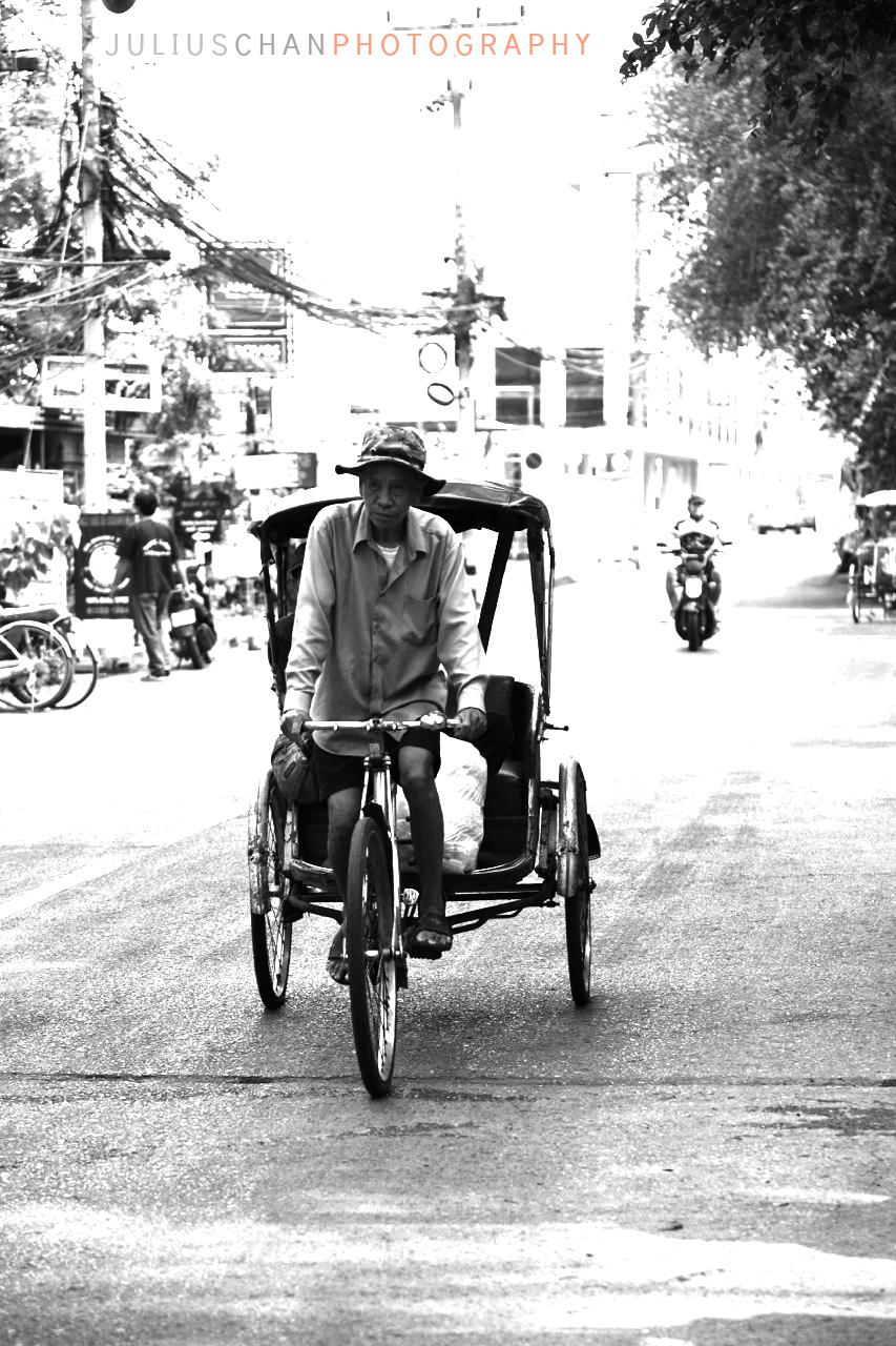 Morning ride, Chiangmai, Thailand