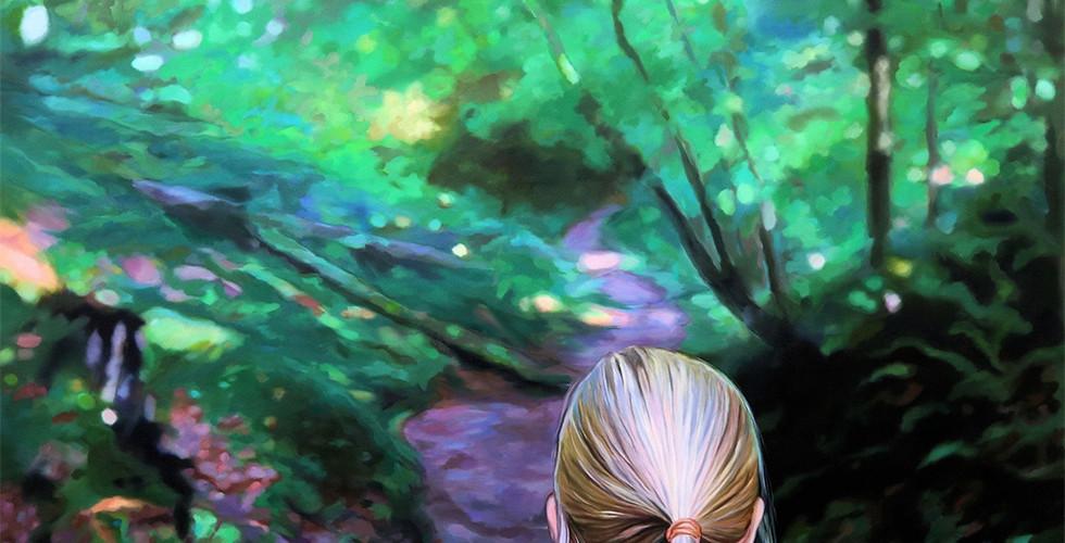 Joanna Jesse - Im Wald, 160x150cm, Öl auf Leinwand, 2020.jpg