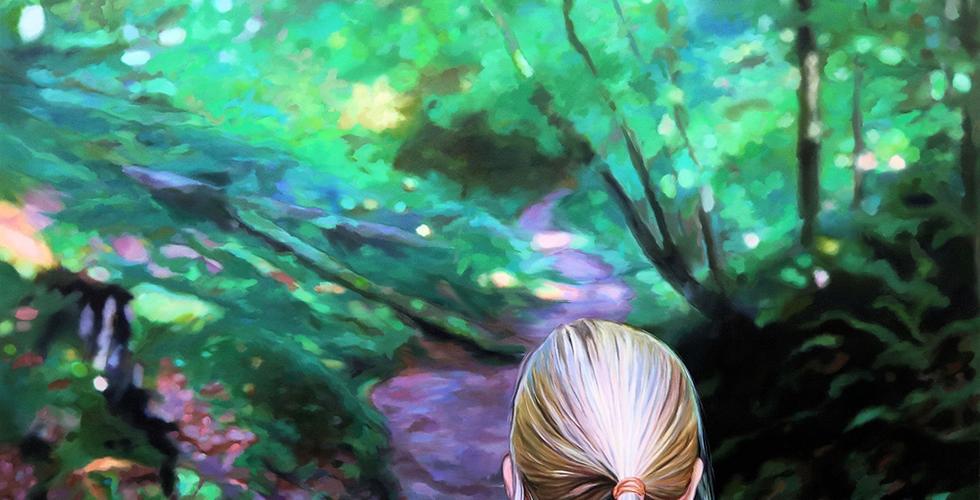 Joanna Jesse - Im Wald, 160x150cm, Öl auf Leinwand, 2020.png
